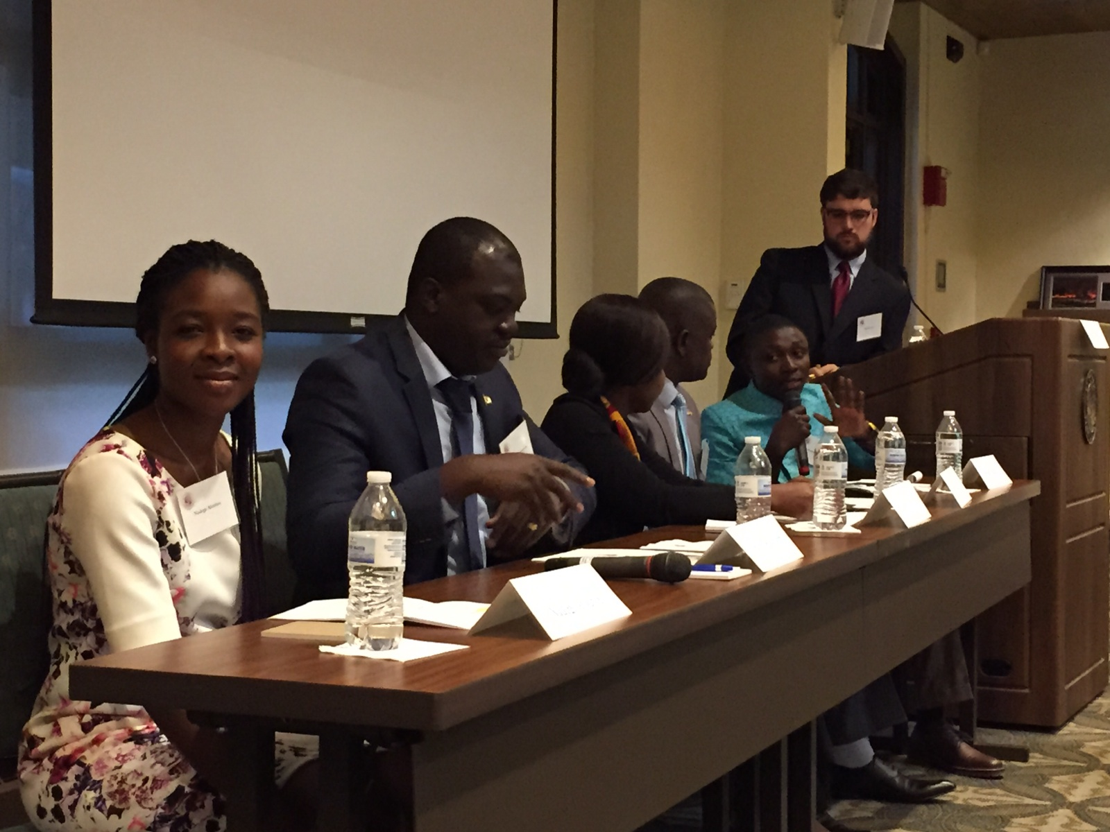 Panel on civic engagement in Africa at El Pomar Foundation